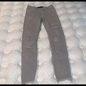 Lucky Brand Gray 'Brooke Legging Jean'